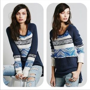 Free people snow angel thermal oversized Small